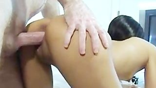 Slender Filipino Escort Tries Porn For the First Time