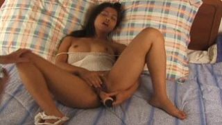 Lovely Asian Teen Shows Off
