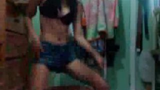 Sexy Asian Teen Striptease